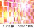 幾何学的模様 モザイク ブロック 発光 背景 壁紙 78687460