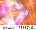 五角形 キラキラ 発光 宝石 背景 壁紙 78687461