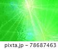 キラキラ 発光 ガラス調 背景 壁紙(緑系) 78687463