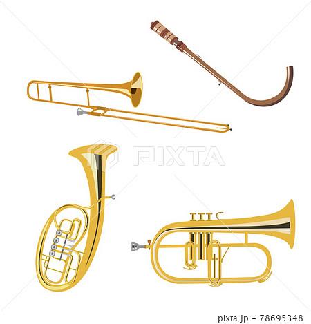 楽器4種 78695348