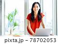 オフィスのビジネスウーマン 撮影協力「+SHIFT NOGIZAKA」 78702053
