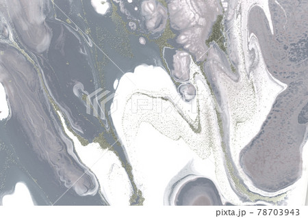 Grey plaster liquid texture. Abstract background. 78703943