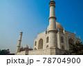 世界遺産タージマハル(インド・アーグラ) 78704900