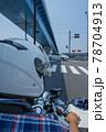 バイクでのツーリングイメージ 78704913
