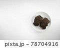 おはぎ(小豆を使った和菓子) 78704916