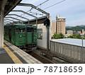 JR西日本の舞鶴線の電車 緑色の車体 78718659
