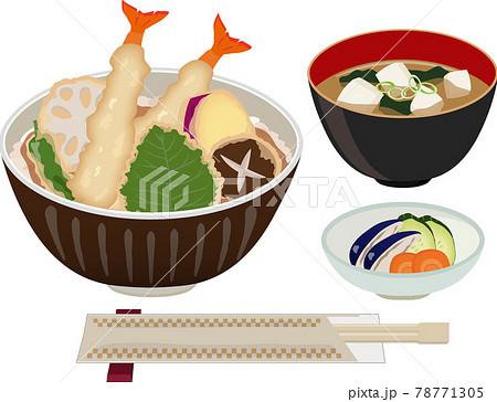 天丼 定食 78771305