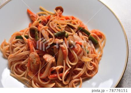 家庭料理・スパゲッティナポリタン 78776151