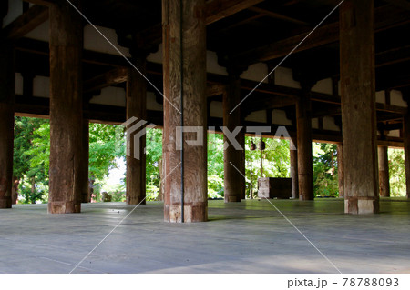 新宮熊野神社・長床(福島県・喜多方市) 78788093