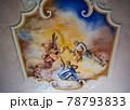 野外民族博物館 リトルワールド ドイツ バイエルン州の村 聖ゲオルグ礼拝堂の天井画 78793833
