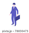アイソメトリックのビジネスマンイラスト 78830473