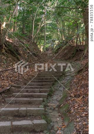 鞍馬寺の登山道、京都府京都市左京区鞍馬本町 78835556