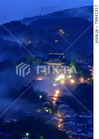 吉野山の雲海 78841317