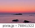 日和山海岸の朝日 78841322
