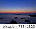 日和山海岸の朝日 78841323