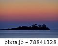 日和山海岸の朝日 78841328