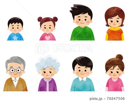 老若男女の人々 78847506