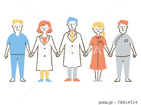 医療関係の人たち02 78914514