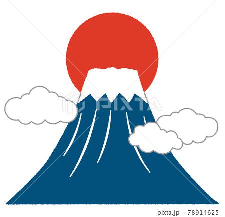 富士山のイラスト 78914625