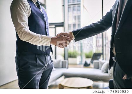 ビジネス 握手 78916989