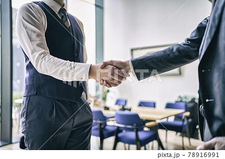 ビジネス 握手 78916991