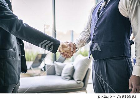 ビジネス 握手 78916993