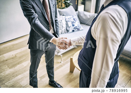 ビジネス 握手 78916995