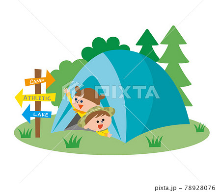 キャンプ 78928076
