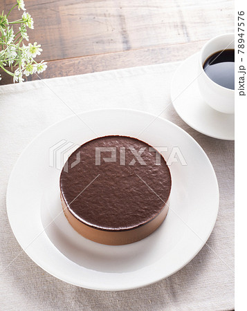 チョコレートムースケーキ 78947576