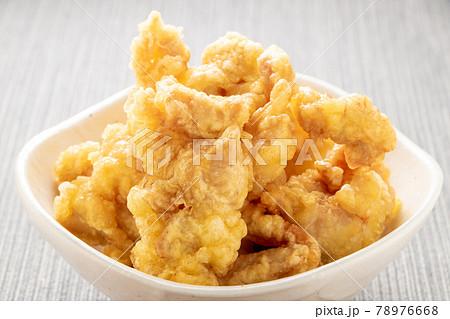 とり天(鶏肉の天ぷら)。 78976668
