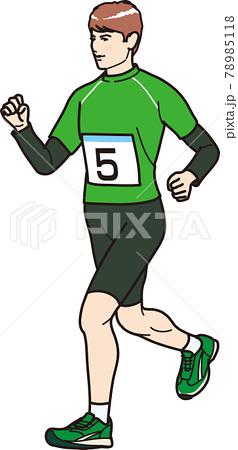 走る市民ランナー 78985118