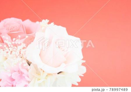 ピンクの可愛い花束 78997489