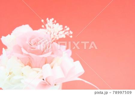 ピンクの可愛い花束 78997509