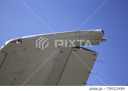 軍用輸送機の主翼とフラップ(厚木基地・神奈川) 79012484