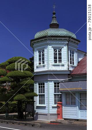 下関の歴史的観光スポットの旧殿居郵便局 79015138