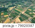 北海道・千歳市 空から眺める初夏の千歳市の風景 79020387