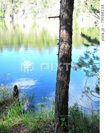 Noux ヌークシオ国立公園の湖面 79086238