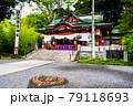 静岡県熱海市 來宮神社(本殿と猪目模様) 79118693
