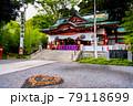 静岡県熱海市 來宮神社(本殿と猪目模様) 79118699