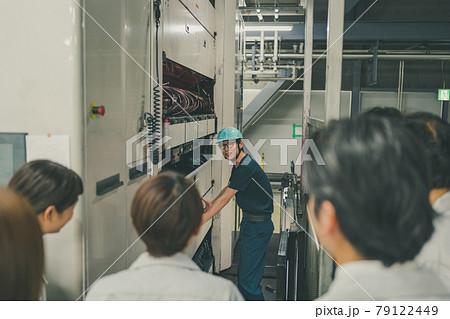 Newspaper Printing Factory 79122449