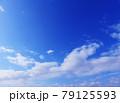 空 青空 雲 風景 背景 79125593