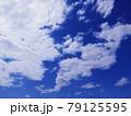 空 青空 雲 風景 背景 79125595