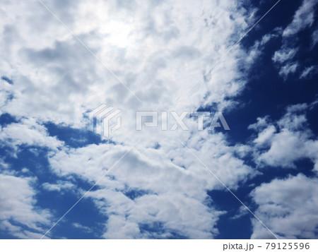 空 青空 雲 風景 背景 79125596