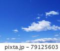 空 青空 雲 風景 背景 79125603