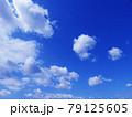 空 青空 雲 風景 背景 79125605
