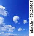 空 青空 雲 風景 背景 79125608
