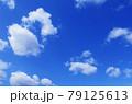 空 青空 雲 風景 背景 79125613
