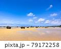 沖縄県宮古島、佐和田の浜・日本 79172258