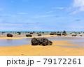 沖縄県宮古島、佐和田の浜・日本 79172261
