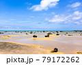 沖縄県宮古島、佐和田の浜・日本 79172262